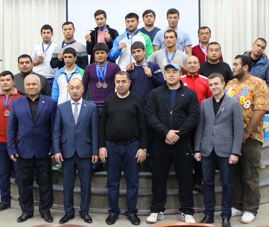 Спортсмены из Узбекистана